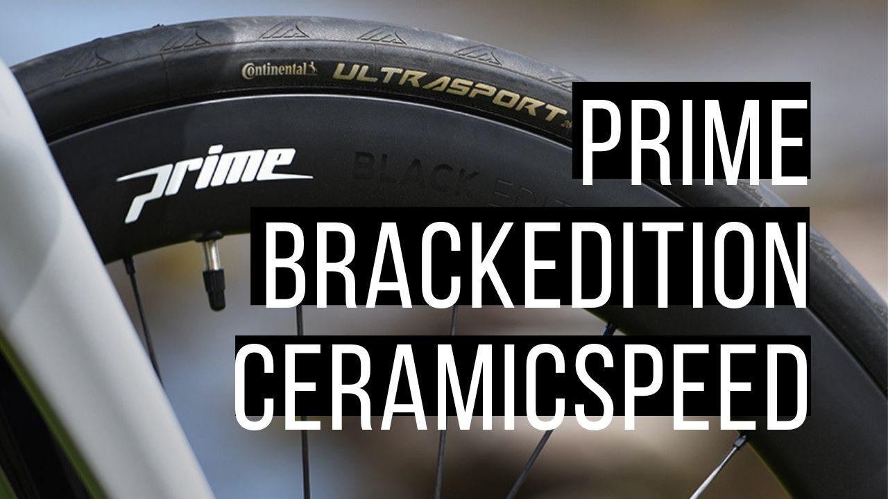 【Prime BlackEdition CeramicSpeed】ついにセラミックベアリングホイールが登場!